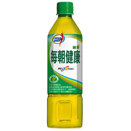 《御茶园》每朝健康绿茶650cc(24入/箱)