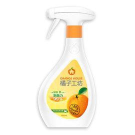 ~橘子工坊~浴廁清潔劑~制菌活力480ML
