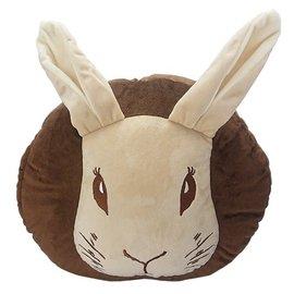 【玫瑰物语】比得兔子刺绣插手枕暖手枕暖手护套30X30X9cm抱枕靠枕卡通动物造型趴睡午睡枕平躺午安枕台湾制布娃娃靠垫