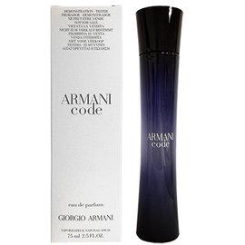 Giorgio Armani Code女性淡香精(75ml TESTER)【TZENITH時尚香水網】