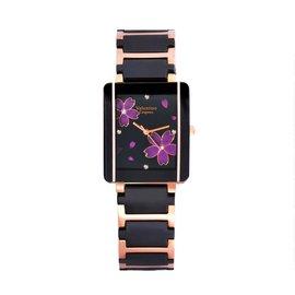 valentino coupeau范倫鐵諾古柏愛戀櫻花半陶瓷腕錶 女錶男錶對錶情侶 送禮