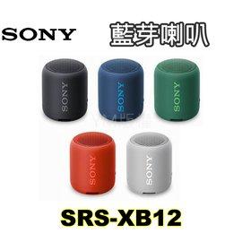 SONY索尼藍芽喇叭價格《SRS-XB10》【B黑/L藍/R紅/G綠/W白/Y黃】