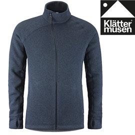 Klattermusen 攀山鼠 保暖羊毛外套/刷毛外套/中层衣 Balder Zip 男款 KM20605M 风暴蓝 SB
