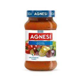 Agnesi義大利蕃茄橄欖麵醬 400g