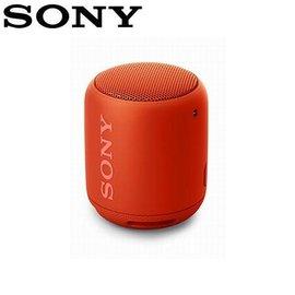 SONY 可攜式無線防水藍牙喇叭 SRS-XB10-R 紅