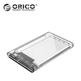 ORICO USB3.0 Type~C UASP 2.5吋硬碟透明殼滑蓋式快拆外接盒 21