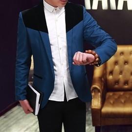 西装外套 秋新款小西服中年男士商务休闲西服单件上衣青年韩版男便西装外套 全馆免运I1
