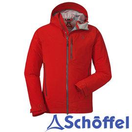 绝佳透湿性!德国【Schoffel】男专业防水3L连帽外套 / 8SL20-22093