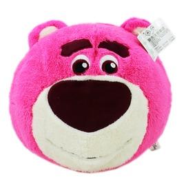 【卡漫屋】 熊抱哥 暖手枕 小圆30CM ㊣版 玩具总动员 绒毛娃娃 Lotso Toy Story 抱枕 午睡枕 玩偶