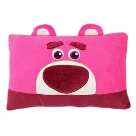 【卡漫屋】 熊抱哥 绒毛 午安枕 35CM ㊣版 枕头 靠枕 抱枕 午休枕 Lotso 玩具总动员 Toy Story