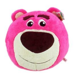 【卡漫屋】 熊抱哥 暖手枕 大圆36CM ㊣版 玩具总动员 绒毛娃娃 Lotso Toy Story 抱枕 午睡枕 玩偶
