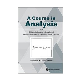 Course in Analysis a ~ Volume II Differentiat