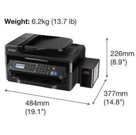 EPSON L565  連續供墨 傳真 WIFI 影印 列印 掃描 螢幕 L1800 L1