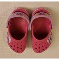 二手女童涼托鞋 Crocs