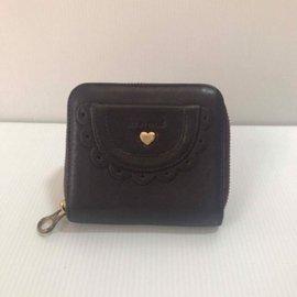 SEE BY CHLOE (每日一物 1500)超卡哇伊 紫色愛心 短夾 零錢包 卡夾
