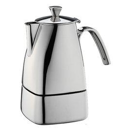 咖啡嘀家 Tiamo 505 方型速拆 不鏽鋼摩卡壺  三杯份  電磁爐 HA2287