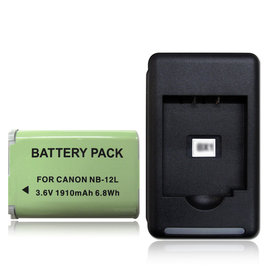 CANON NB-12L /  NB12L 高容量防爆相機充電組 電池+充電器 Canon PowerShot G1 X Mark II /  N100