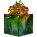 琉璃【喜柿文鎮】適用對象:收藏,結婚禮品,情人節禮物,友誼,年節送禮,商務公關,企業贈品,禮品。