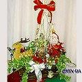 FD019『花鹿在奔跑』聖誕盆栽組合花禮