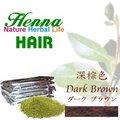 Henna指甲花粉植物增色 - 深棕色(1KG裝) +溫控型護髮帽 + 染髮套件