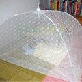 【如如安安生活館】【A104】精緻典雅傘狀嬰兒蚊帳睡簾【針織小花白紗網】