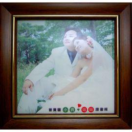 10x10相片磁磚+木框【個性化創意商品、相片轉印、最佳送禮、生日禮物、母親節、父親節、畢業禮物】