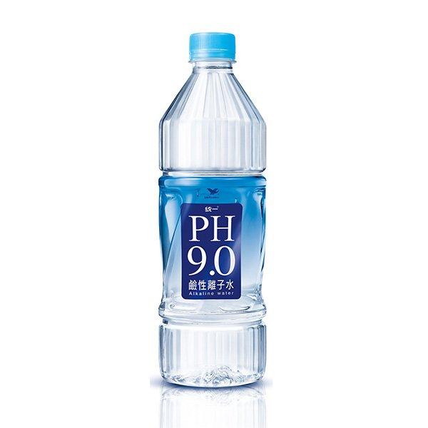統一PH9.0鹼性離子水800ml-1箱