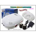 【魚舖子】TEQIANG 鋰電AC/DC掛式雙孔空氣馬達JHL-23∼便宜賣