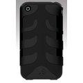 SwitchEasy CapsuleRebel Black iPhone 3G魚骨式保護殼 黑色
