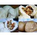 皇宇 [張 記-手工饅頭/包子]高麗菜包子+香菇竹筍包子 +黑糖饅頭+微甜饅頭各10個共40個