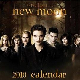 英國版  NEW MOON 2010 月曆 30 X 30 CM 方形 暮光之城~Twilight