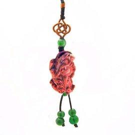 海竹貔貅開運吊飾
