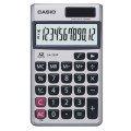 CASIO卡西歐‧12位數雙電源輕薄攜帶型商務計算機─SX-320P(銀白色)