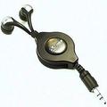 MP3耳機 SONY入耳式造型 動態銅圈釹鐵硼超強磁力驅動喇叭 超強重低音適合流行搖滾樂 伸縮線總長1.15M 黑色