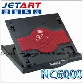 【免運】JetArt 捷藝 CoolStand3 NC6000 人體工學 筆電散熱底座