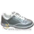 【再降↘300!零碼現貨!售完為止~】BANFF進階經典款皮面保齡球鞋S285 - 銀色(無左手鞋)