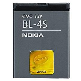 NOKIA BL-4S 原廠電池 860mah/ 2680S/ 3600S/ 3710F/ 6208/ 7020/ 7100S/ 7610S/ X3-02