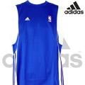 adidas NBA 快速排汗籃球背心-藍色