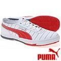 PUMA Super VIII 帆布休閒鞋-白色/紅色 現貨超低價出清 只要$500/雙