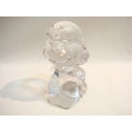 SNOOPY (史努比) SASAKI 水晶擺飾/露西   日本製   4981181750181