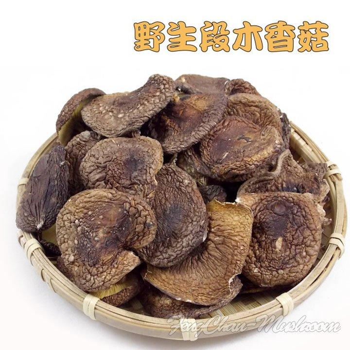 野生段木香菇(半斤裝)