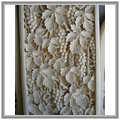 △峇里島砂岩石雕壁板~壁磚,浮雕 天然砂岩(50x100x10CM)