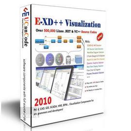E-XD++ Professional Edition Suite (視覺化圖形源碼) - Single Developer License (P-UCC602)
