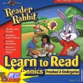 [A美國軟體] Reader Rabbit Learn to Read Phonics Preschool - Kindergarten (Jewel Case) $650