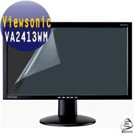 Viewsonic VA2413WM 24吋寬 專用 -EZstick魔幻靜電式霧面螢幕貼