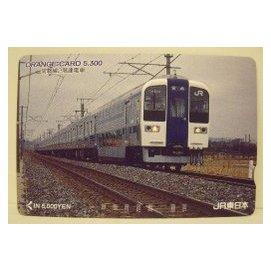 【二手好物交流品】日本常磐線火車儲值卡