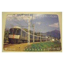 【二手好物交流品】日本小田急火車儲值卡