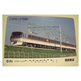 【二手好物交流品】日本西武鐵道火車儲值卡