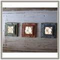 ◆巴里島砂岩雕刻花磚,壁磚,浮雕(22x22x3CM)手工花磚