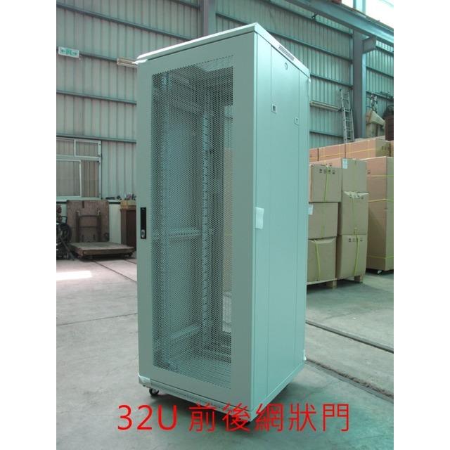 30U機櫃(可上Server)-深60公分(黑v白) ~贈2U承板~(3期零利率)